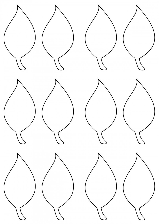 002 Impressive Blank Leaf Template With Line Image  Printable868