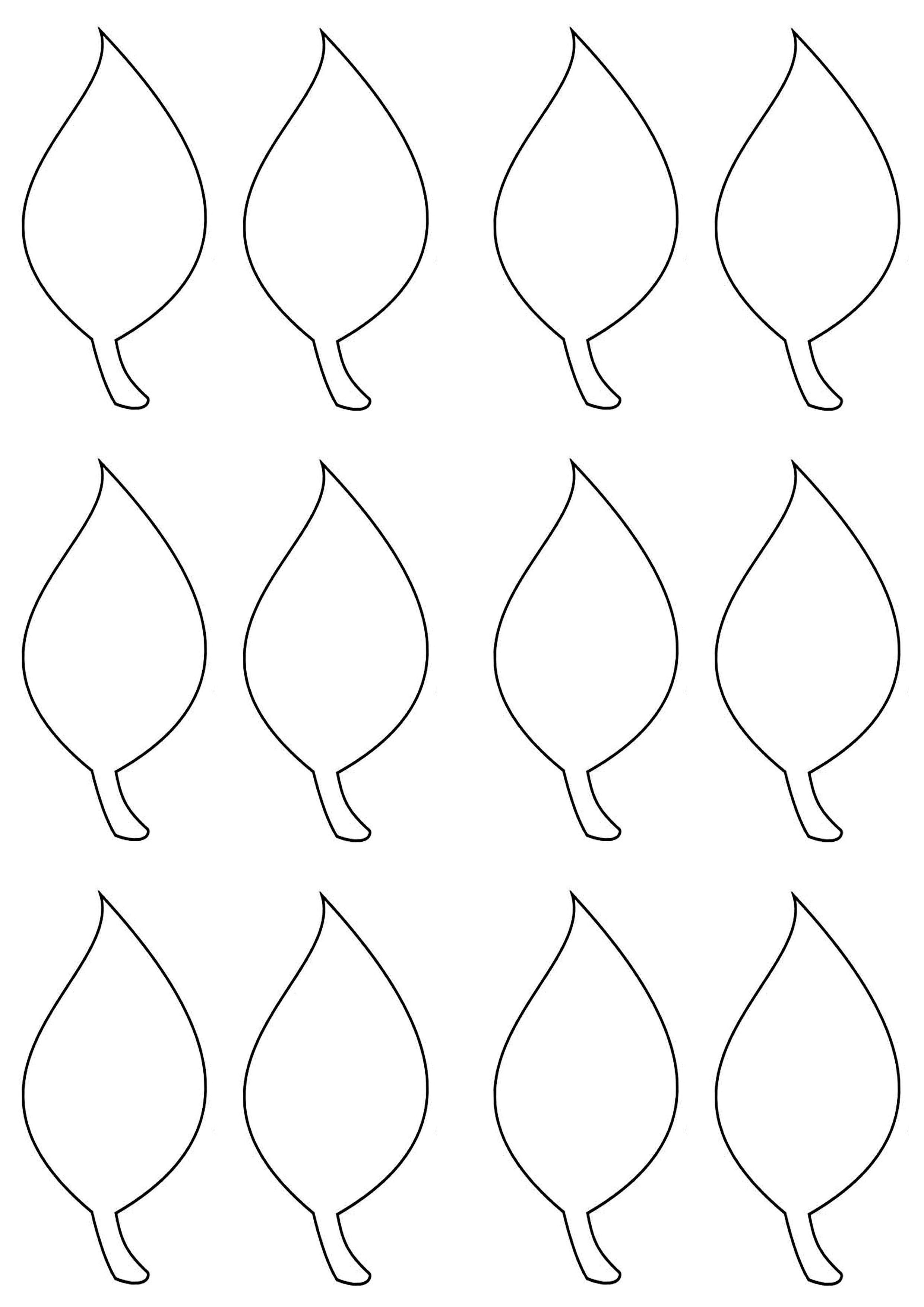 002 Impressive Blank Leaf Template With Line Image  Lines PrintableFull
