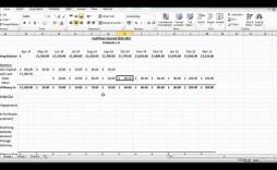 002 Impressive Cash Flow Sample Excel Photo  Sheet Spreadsheet Bar Chart