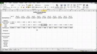 002 Impressive Cash Flow Sample Excel Photo  Spreadsheet Free Forecast Template320