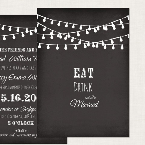 002 Impressive Chalkboard Invitation Template Free High Definition  Download Birthday480