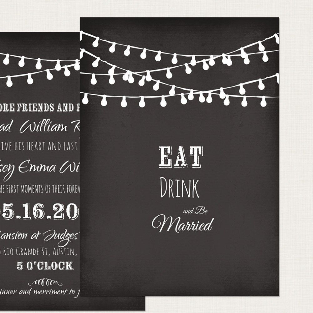 002 Impressive Chalkboard Invitation Template Free High Definition  Birthday DownloadFull