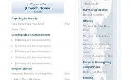 002 Impressive Church Bulletin Template Word High Resolution  Program Free Wedding