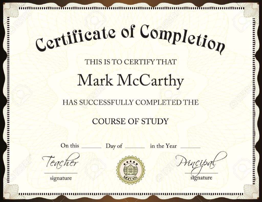 002 Impressive Degree Certificate Template Word Photo Large