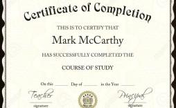 002 Impressive Degree Certificate Template Word Photo