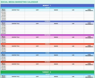 002 Impressive Digital Marketing Plan Template Free Concept  Ppt Download320