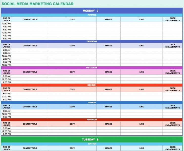 002 Impressive Digital Marketing Plan Template Free Concept  Ppt Download728