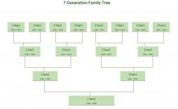 002 Impressive Editable Family Tree Template Online Free Idea