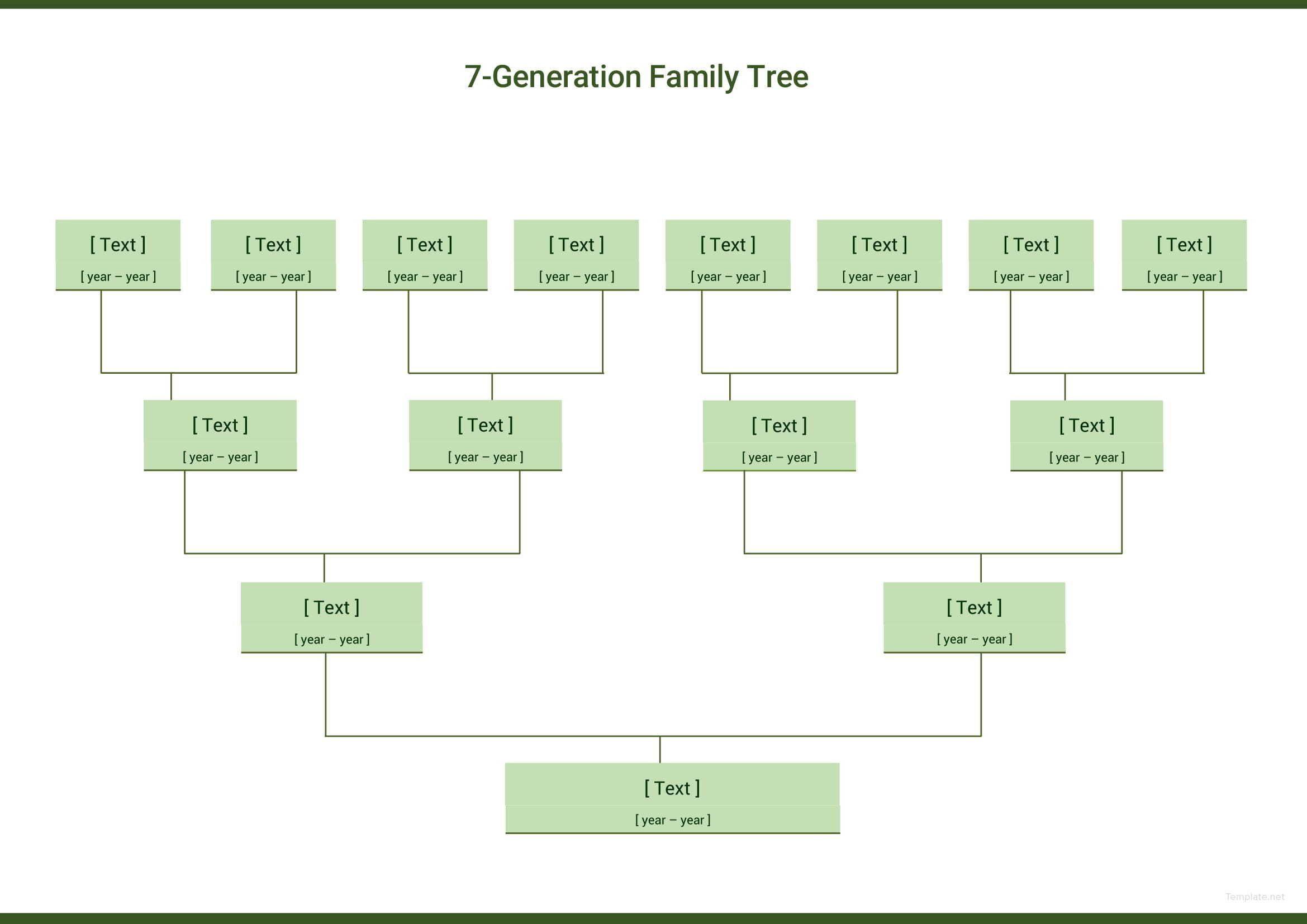002 Impressive Editable Family Tree Template Online Free Idea Full