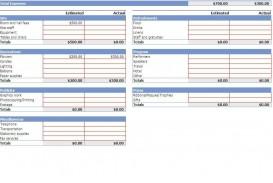 002 Impressive Event Planning Budget Worksheet Template Picture  Free Download Planner Spreadsheet