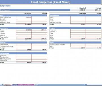 002 Impressive Event Planning Budget Worksheet Template Picture  Free Download Planner Spreadsheet360