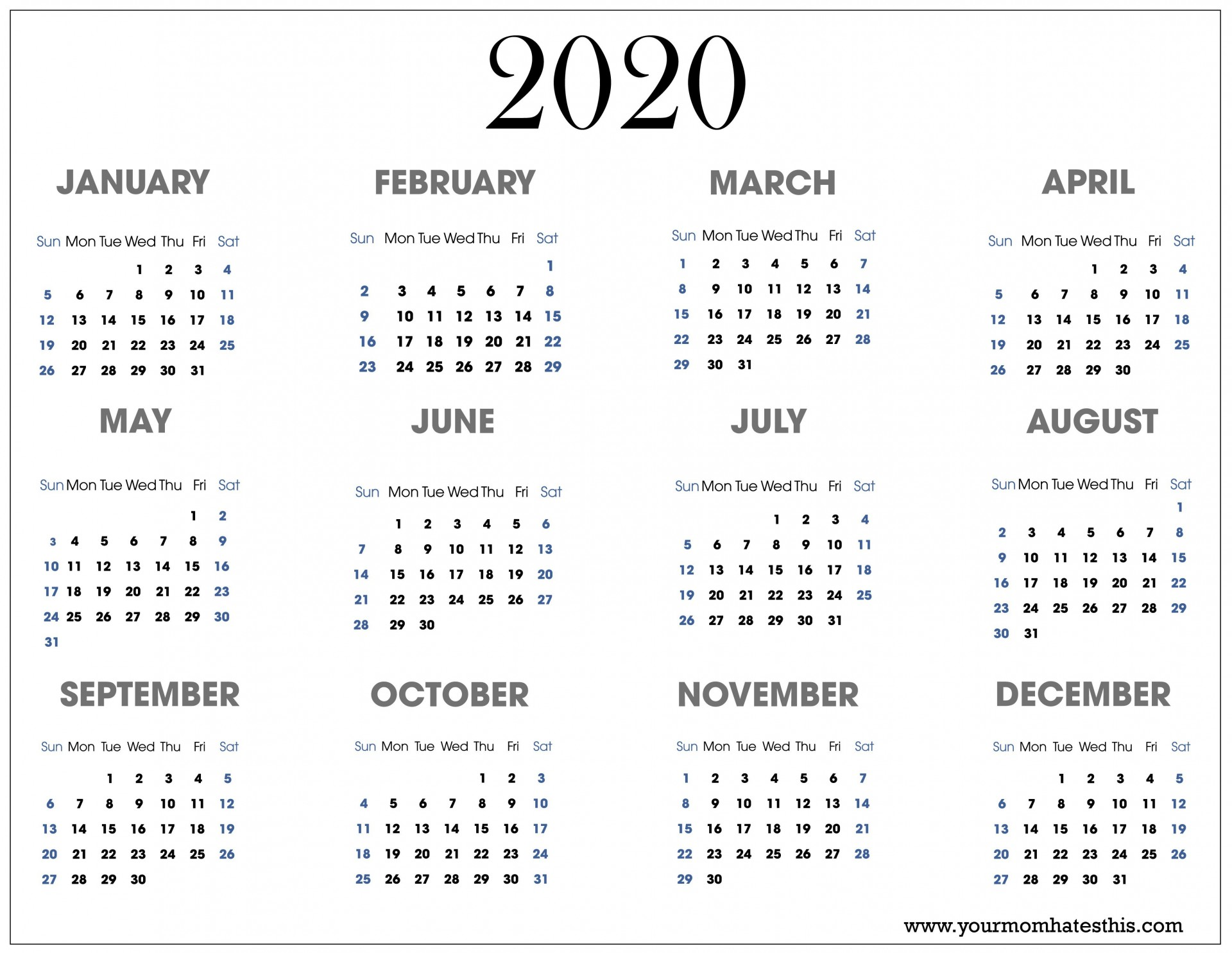002 Impressive Free 2020 Calendar Template Idea  Templates Monthly Excel Download Printable May1920
