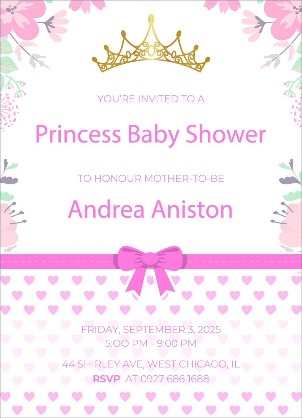 002 Impressive Free Baby Shower Invitation Template High Def  Printable Editable Microsoft Word To PrintLarge