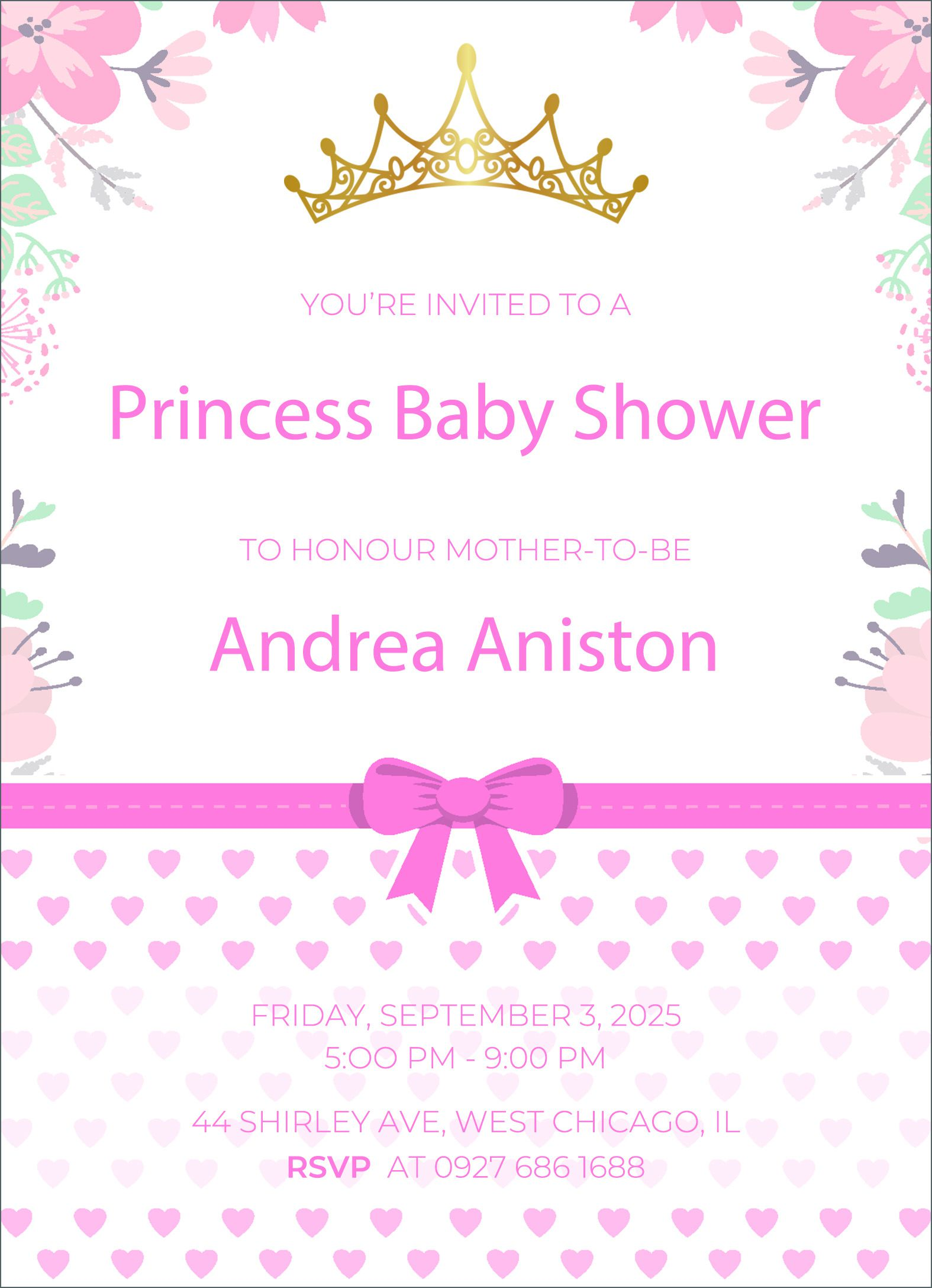002 Impressive Free Baby Shower Invitation Template High Def  Printable Editable Microsoft Word To PrintFull