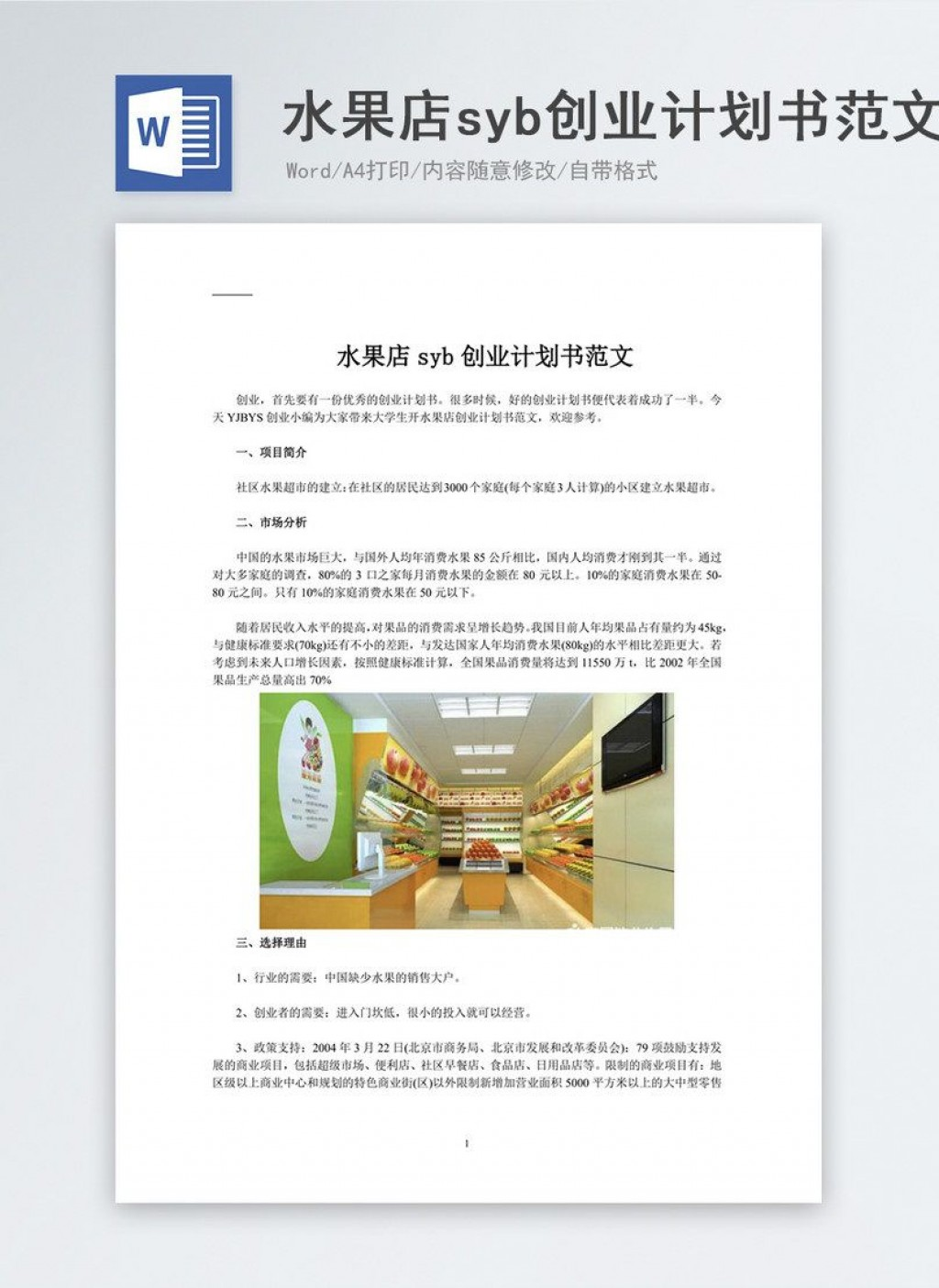 002 Impressive Free Busines Plan Template Word High Resolution  Download Document Sample DocLarge