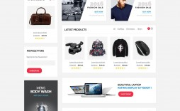 002 Impressive Free Commerce Website Template Highest Clarity  Wordpres Ecommerce Download Responsive Html Cs