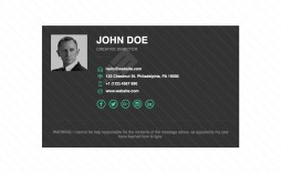 002 Impressive Free Email Signature Template Highest Quality  Templates Outlook For Yahoo Mac Mail