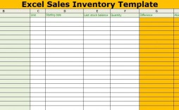 002 Impressive Free Excel Stock Inventory Template Sample  Simple