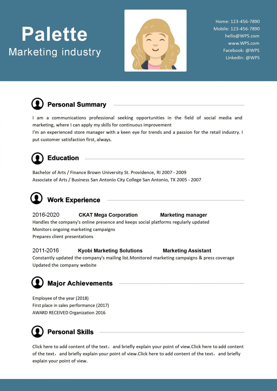 002 Impressive Free Resume Template Microsoft Office Word 2007 Concept 1920