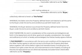 002 Impressive Home Purchase Agreement Template Michigan High Definition