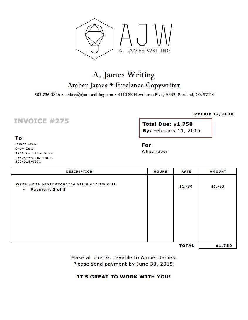 002 Impressive Invoice Template Uk Freelance Picture  Example Sample WordFull