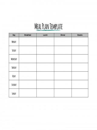 002 Impressive Meal Plan Printable Pdf High Def  Worksheet Downloadable Template Sheet320