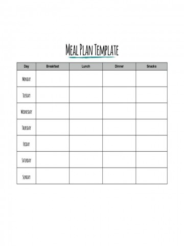 002 Impressive Meal Plan Printable Pdf High Def  Worksheet Downloadable Template Sheet360