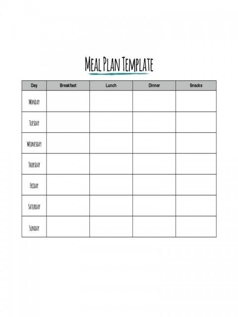 002 Impressive Meal Plan Printable Pdf High Def  Worksheet Downloadable Template Sheet480