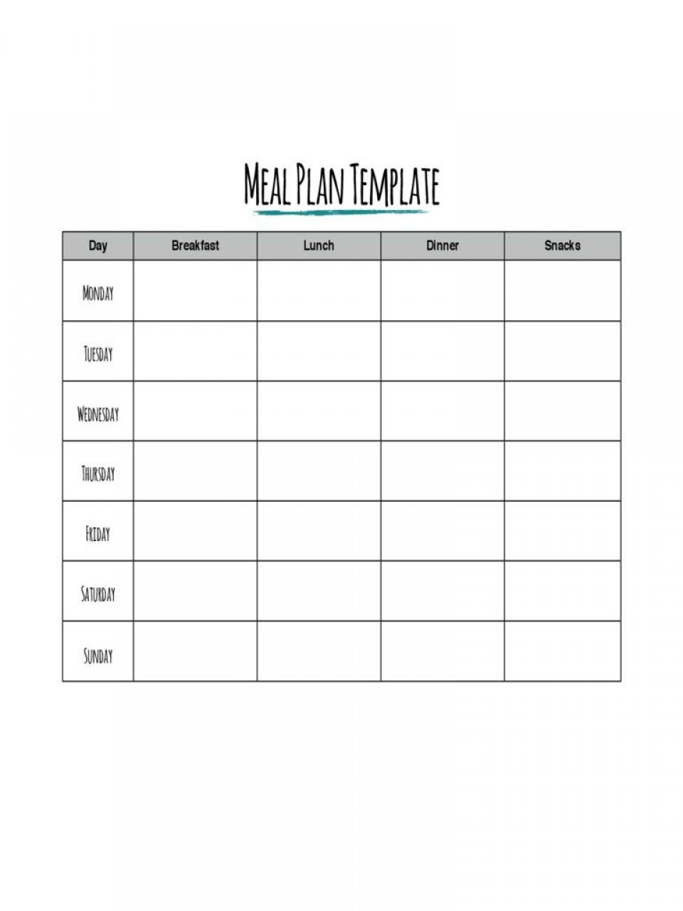 002 Impressive Meal Plan Printable Pdf High Def  Worksheet Downloadable Template Sheet960