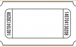 002 Impressive Microsoft Word Ticket Template Photo  Raffle 8 Per Page Movie Numbered