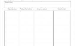 002 Impressive Nursing Care Plan Template Image  Veterinary Ability Model Free Printable