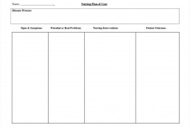 002 Impressive Nursing Care Plan Template Image  Free Pdf Download