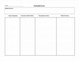 002 Impressive Nursing Care Plan Template Image  Free Pdf Download320