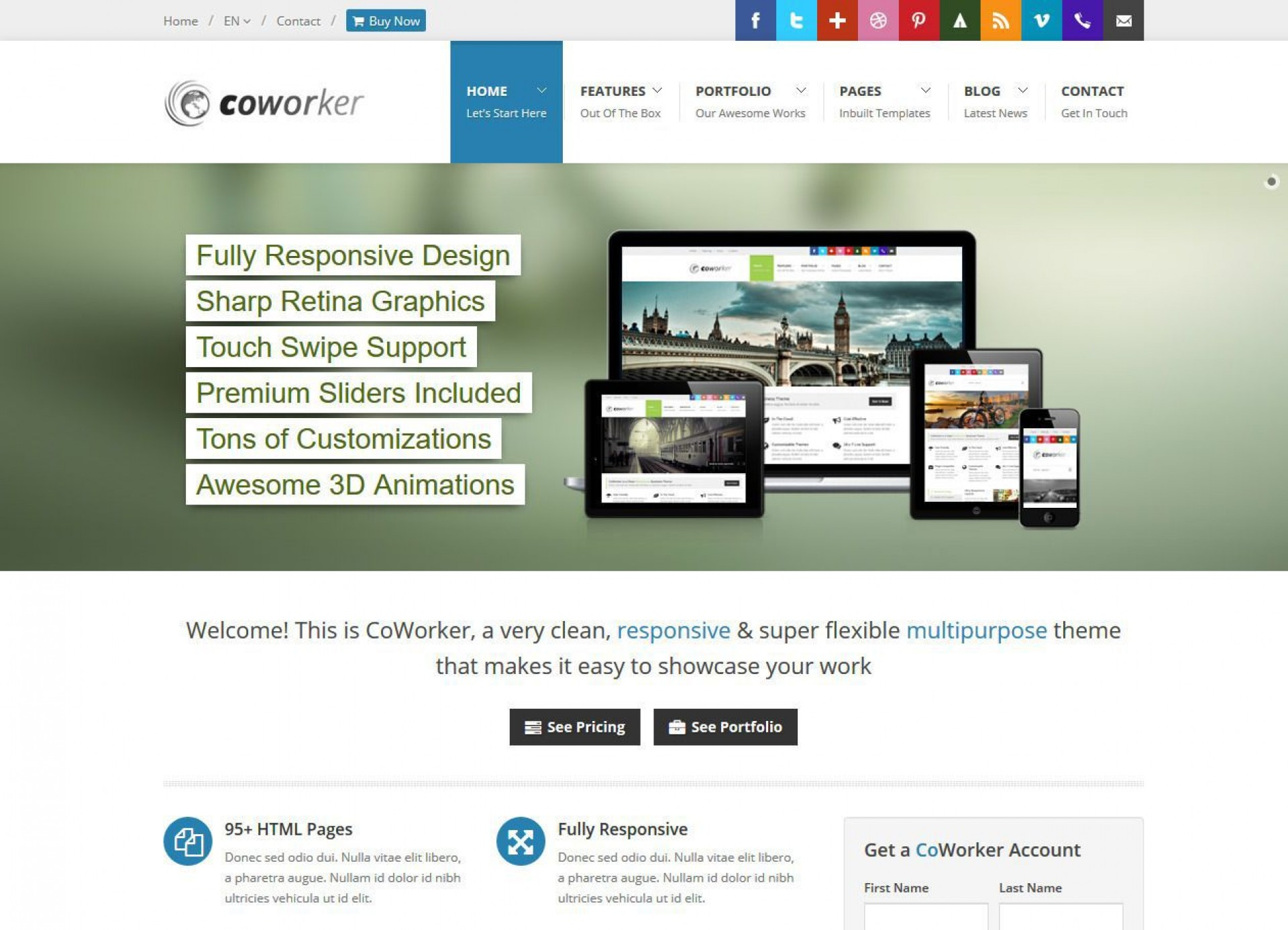 002 Impressive Open Source Website Template Inspiration  Templates Web Free Ecommerce Page1920