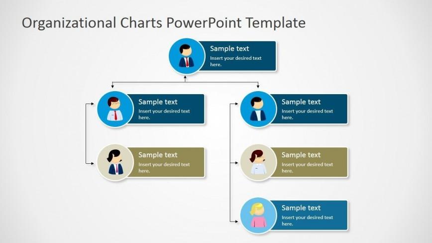 002 Impressive Organizational Chart In Microsoft Powerpoint 2010 Highest Quality 868