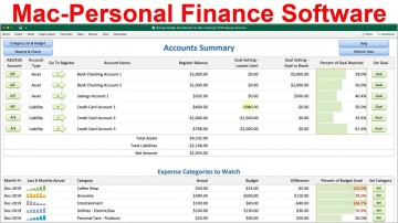 002 Impressive Personal Budget Spreadsheet Template For Mac High Definition 360