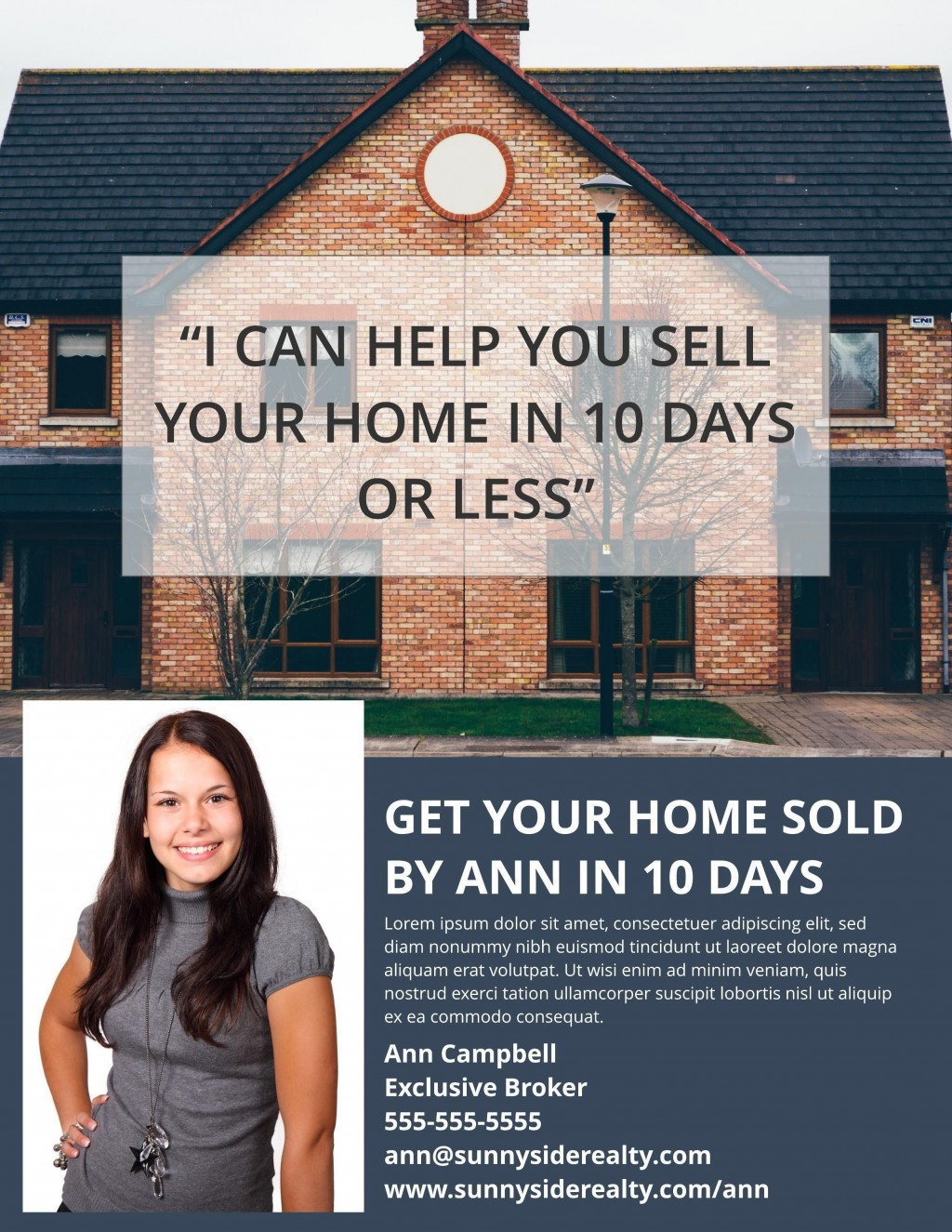 002 Impressive Real Estate Marketing Flyer Template Free Picture Large