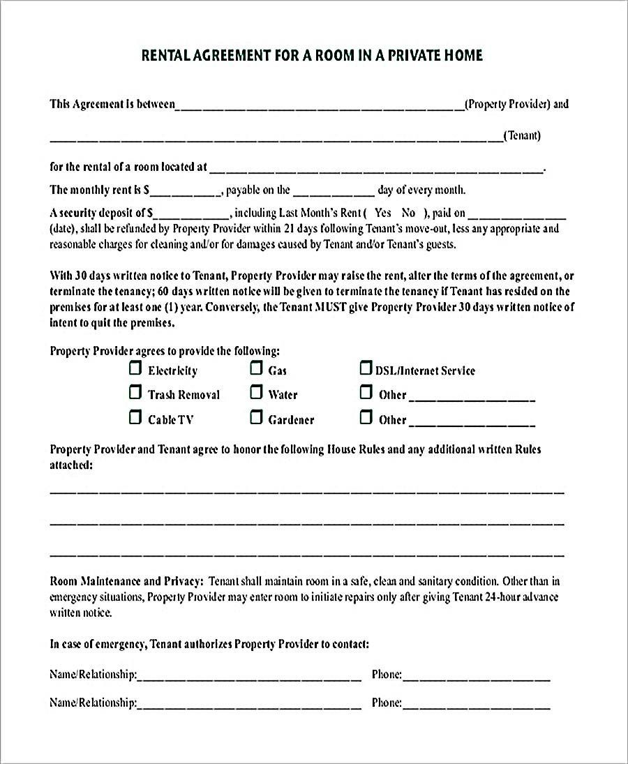 002 Impressive Rent Lease Agreement Template Picture  Tenancy Landlord Form Bc House Rental PdfFull