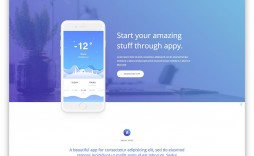 002 Impressive Responsive Landing Page Template High Definition  Free Html With Flexbox Html5