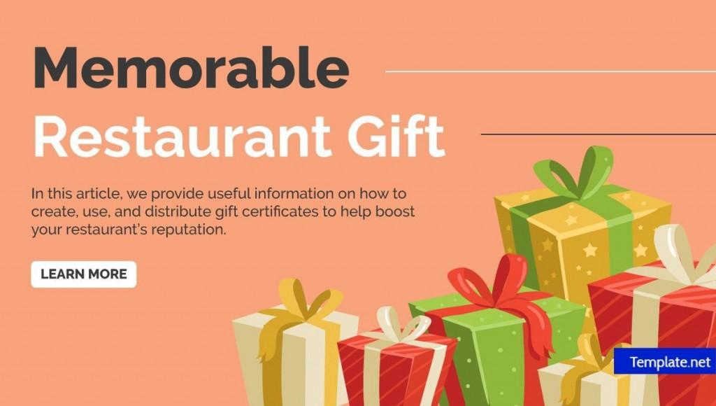 002 Impressive Restaurant Gift Certificate Template Highest Clarity  Templates Card Word Voucher FreeLarge
