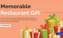 002 Impressive Restaurant Gift Certificate Template Highest Clarity  Templates Card Word Voucher Free