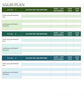 002 Impressive Sale Plan Template Word Example  Compensation Free Busines320