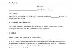 002 Impressive Sample Letter For Terminating Rental Agreement Idea  Terminate Tenancy To Lease From Landlord A
