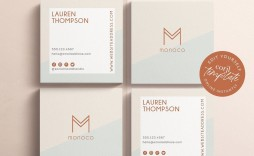 002 Impressive Square Busines Card Template High Def  Free Download Photoshop