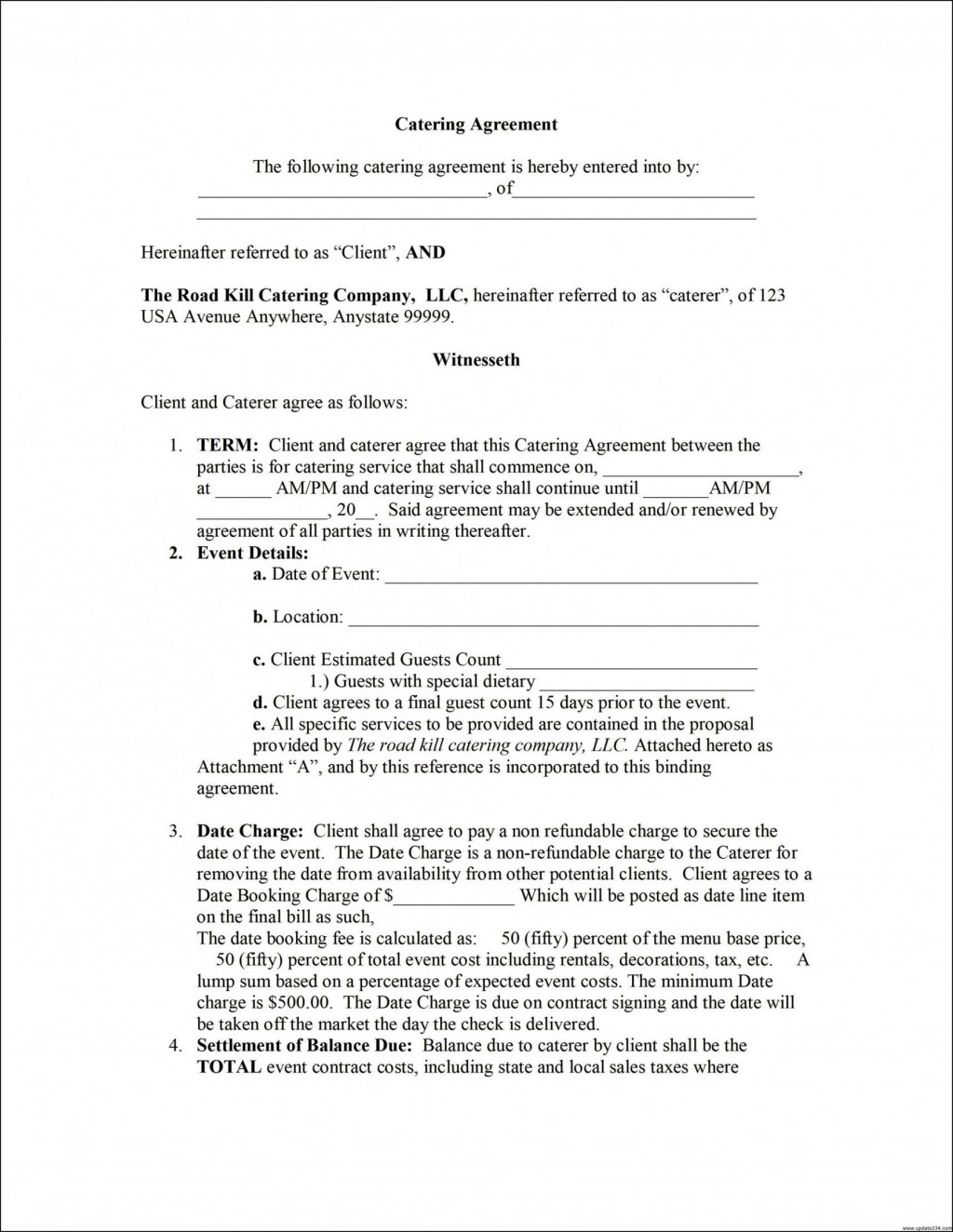 002 Impressive Term Of Agreement Template Highest Clarity  Service Contract Busines UkLarge