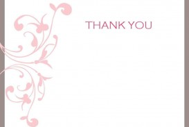 002 Impressive Thank You Card Template Photo  Wedding Busines Word Free