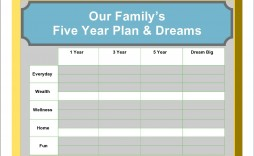 002 Incredible 5 Year Plan Template High Def  Pdf Busines For Couple