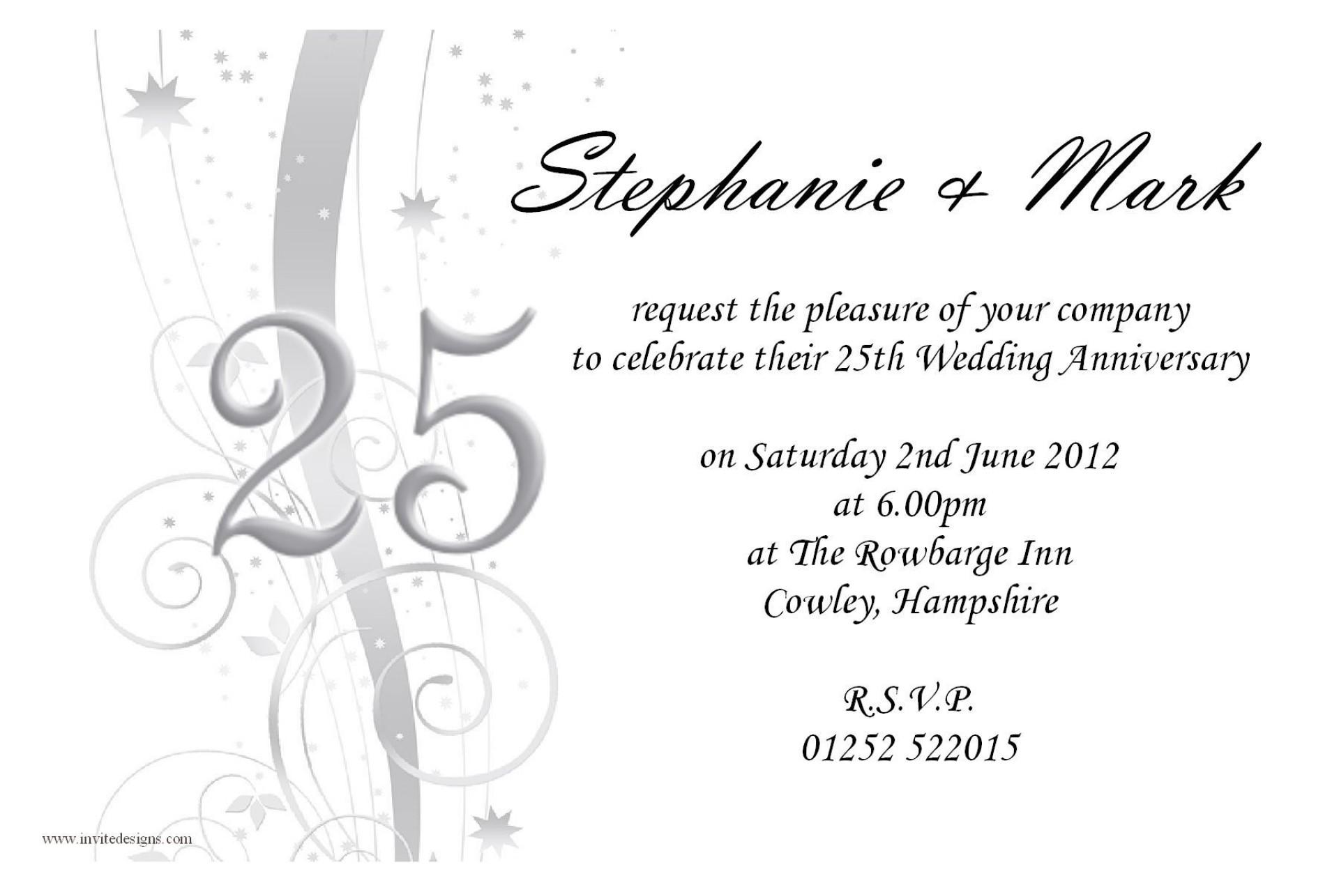 002 Incredible 50th Anniversary Invitation Wording Sample High Definition  Samples Wedding Card1920