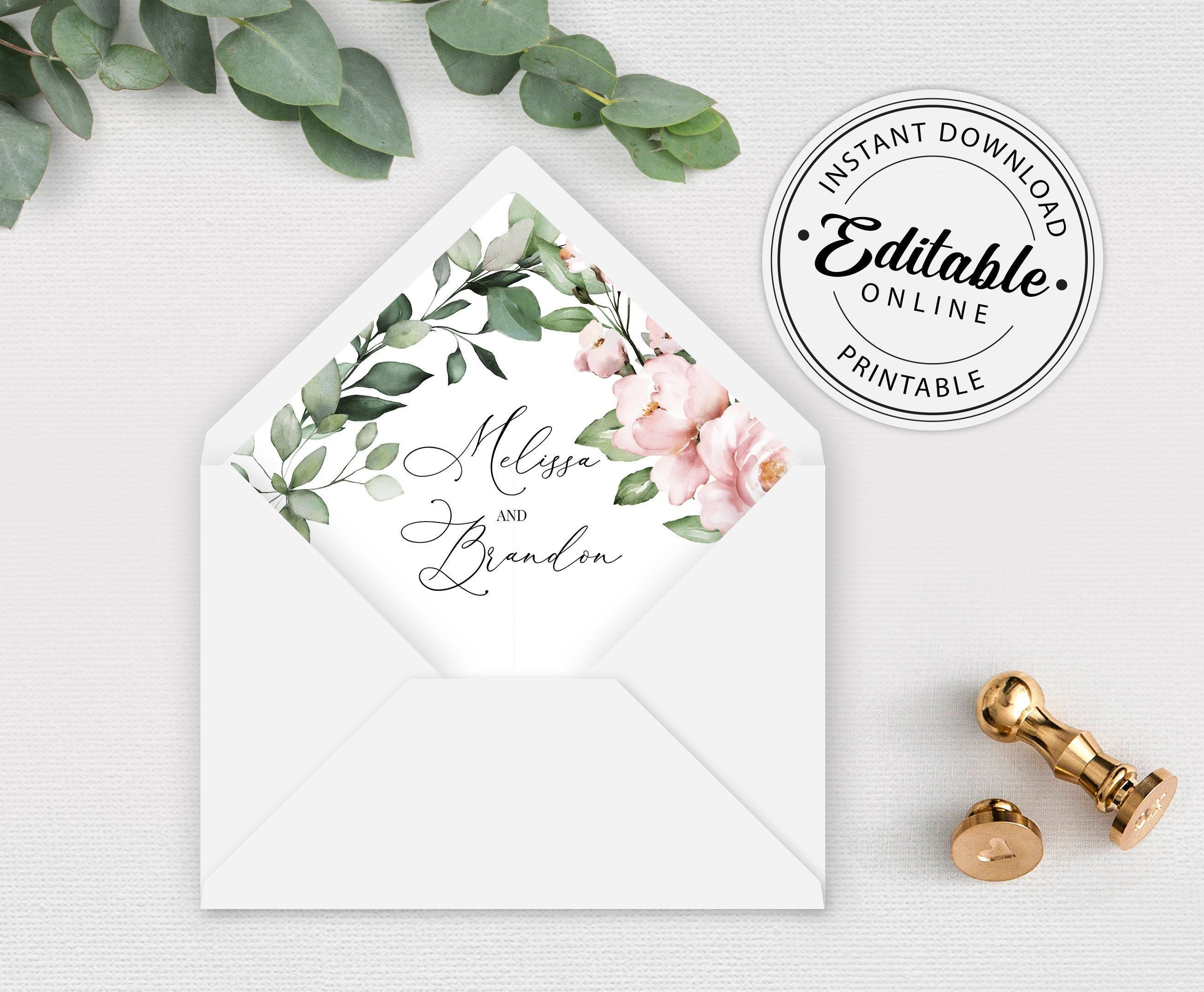 002 Incredible A7 Square Flap Envelope Liner Template Image Full