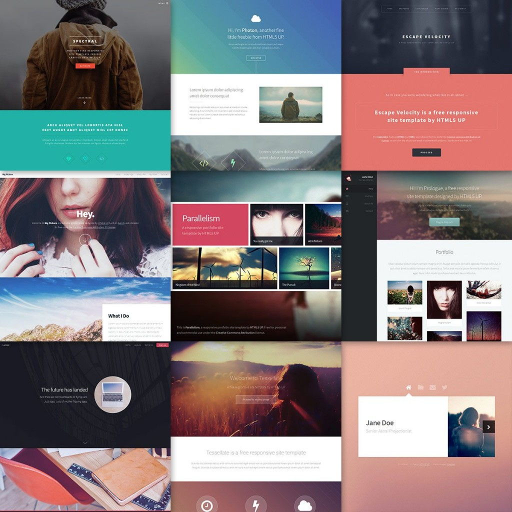 002 Incredible Download Web Template Html5 Idea  Photography Website Free Logistic BusinesLarge